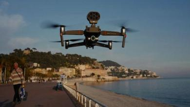 Photo of Drone urges people to stay indoors in France