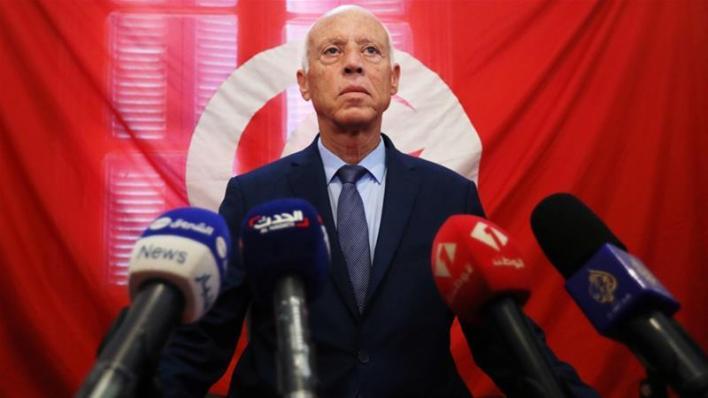 Tunisian President,  Kais Saied