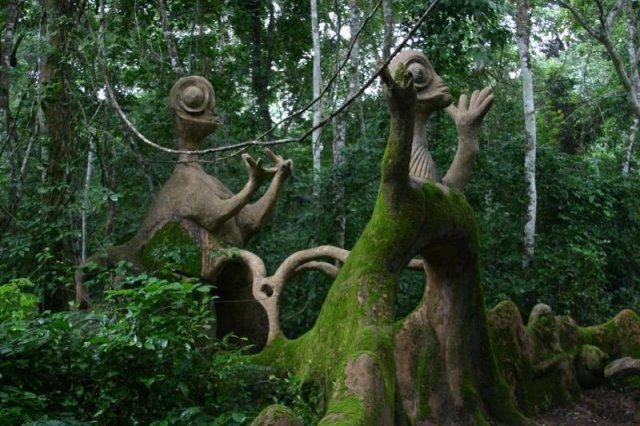 Osun-Osogbo Sacred Grove in Nigeria