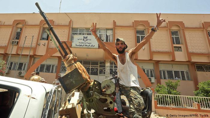 Libya tore apart by civil war, half Russian, half Turkish?