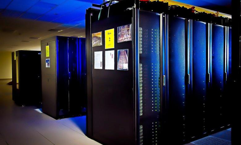 Photo of Japanese supercomputer is the fastest in the world