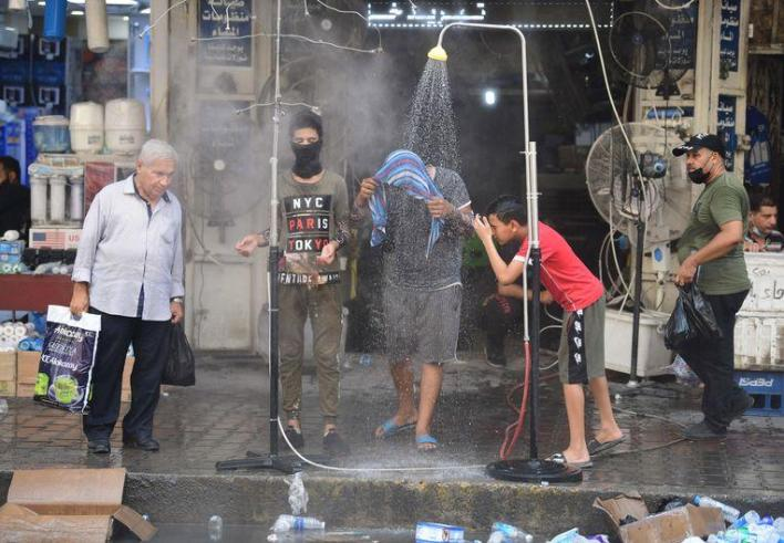Middle East groans under unseen temperatures: 51.8 degrees in Baghdad
