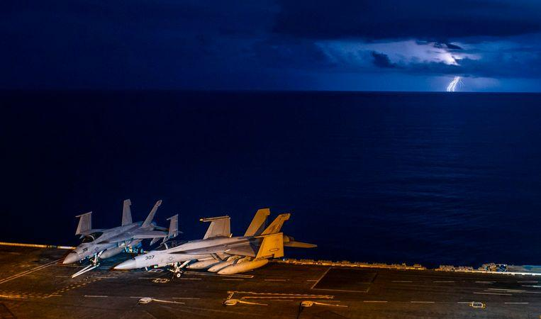 Photo of Tension between US and China due to South China Sea maneuvers