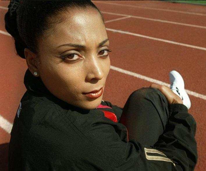 Griffith-Joyner announced Monday, June 3, 1996 that she will not attempt to gain a position on the 1996 Olympic team due to tendonitis in her right achilles tendon which has left her unable to workout more than once a week