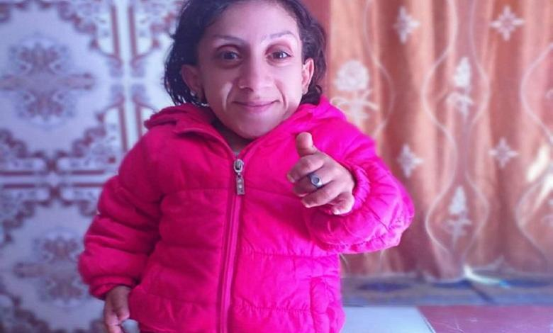 Photo of Moroccan woman wants to claim world smallest woman record holder