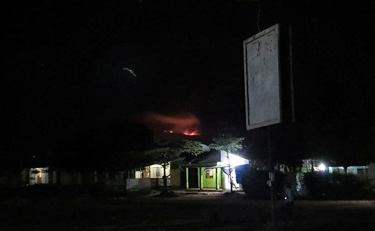 Photo of Kilimanjaro is still on fire