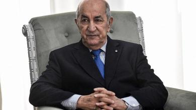 Photo of Algerian President Tebboune hospitalized