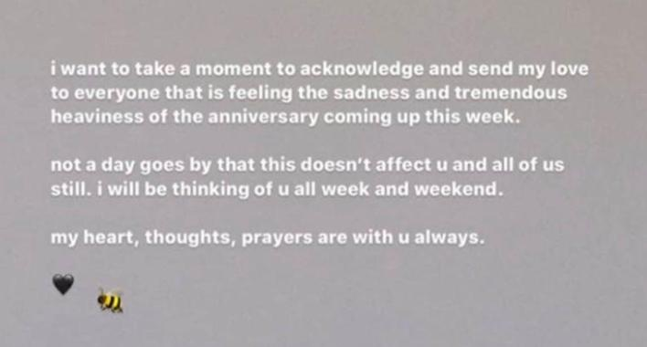 Ariana Grande commemorates victims of attack in Manchester