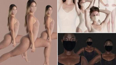 "Photo of Kim Kardashian under fire for mouth mask collection: ""Inappropriate and offensive"""