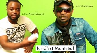 Ici C'est Montréal: DIAMANT NOIR reçoit ANICET MAGREGO