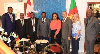 Le consul Jeson Erden souhate bonne année à la communauté camerounaise du Canada