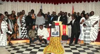 Tribute to Ghana president Atta Mills in Montreal