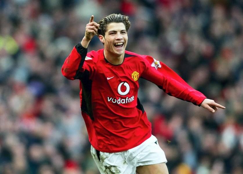 Ronaldo no Manchester United