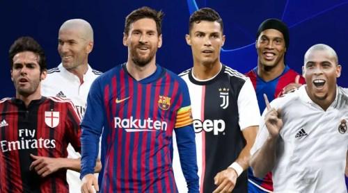 Drogba 49e, Zidane 8e, Ronaldinho 4e : Les 100 meilleurs joueurs des 20 dernières années (Independant)