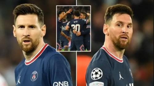 Tensions entre Messi et une star du PSG, la demande surprenante de la Pulga