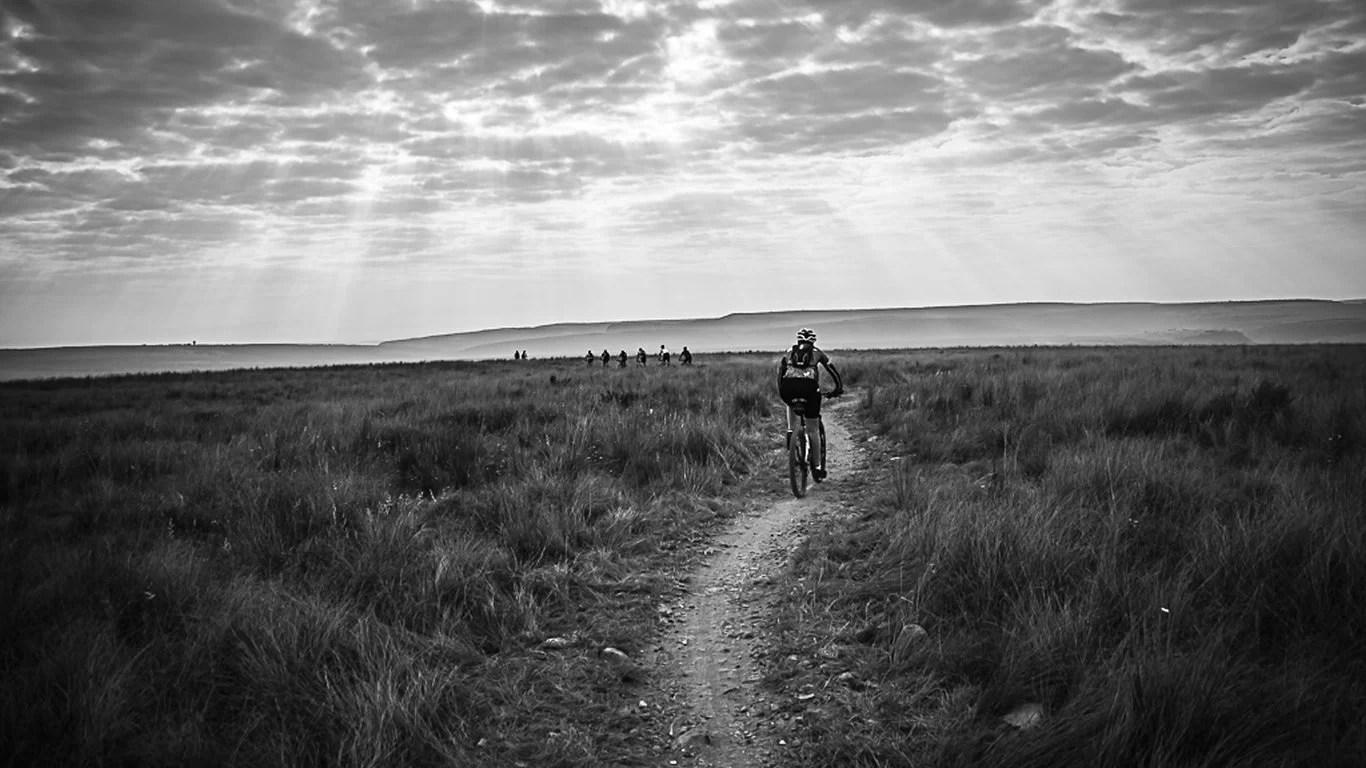 hight resolution of mountain bike trails