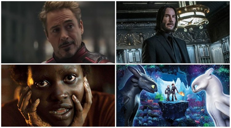 Here are the top ten Hollywood films that have been released so far.