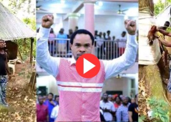 Video: Native Doctor Reveals Source Of Prophet Odumeje's Power, Lays Curses On Him In Shrine
