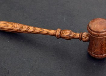 FILE PHOTO: The judge's gavel is seen in court room PHOTO: REUTERS/Chip East/File Photo