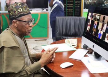 Minister of Information and Culture, Alhaji Lai Mohammed PHOTO:Twitter