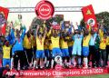 Mamelodi Sundowns were crowned champions of the 2018/2019 Absa Premiership. COURTESY: TWITTER/Premier Soccer League