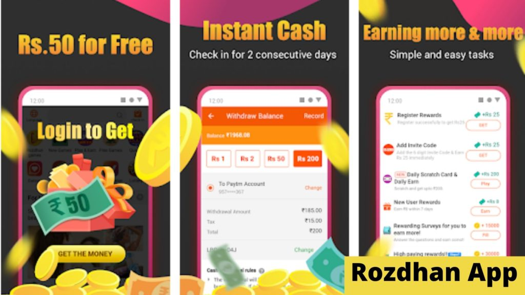 Rozdhan App: Earn Money By Reading News and Playing Games