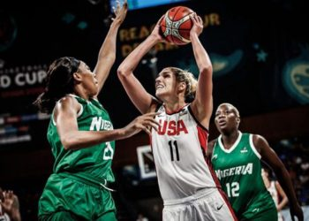 D'Tigress will meet defending champions, U.S., in their opening game of the Tokyo 2020 basketball event…today