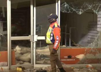 The violent protests and a looting spree in parts of KwaZulu-Natal and Gauteng Provinces were sparked by the jailing of former president Jacob Zuma . /CGTN