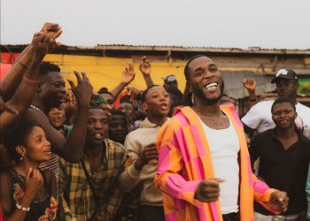 """Burna Boy and Don Jazzy in """"Question"""" music video"""