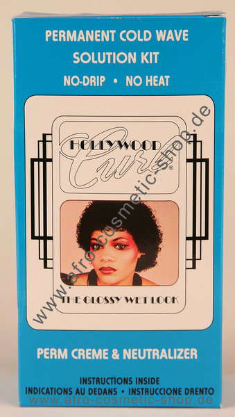 Hollywood Curl Permanent Cold Wave Solution Kit  Afro