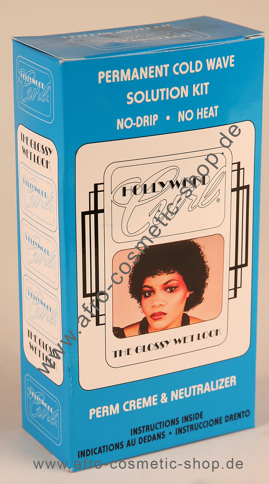 Hollywood Curl Permanent Cold Wave Solution Kit  Afro Cosmetic