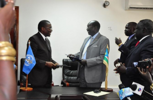 WHO and South Sudan Sign Basic Cooperation Agreement | Regional ...