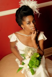 inspiration natural hair brides