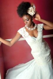 inspiration natural hair brides