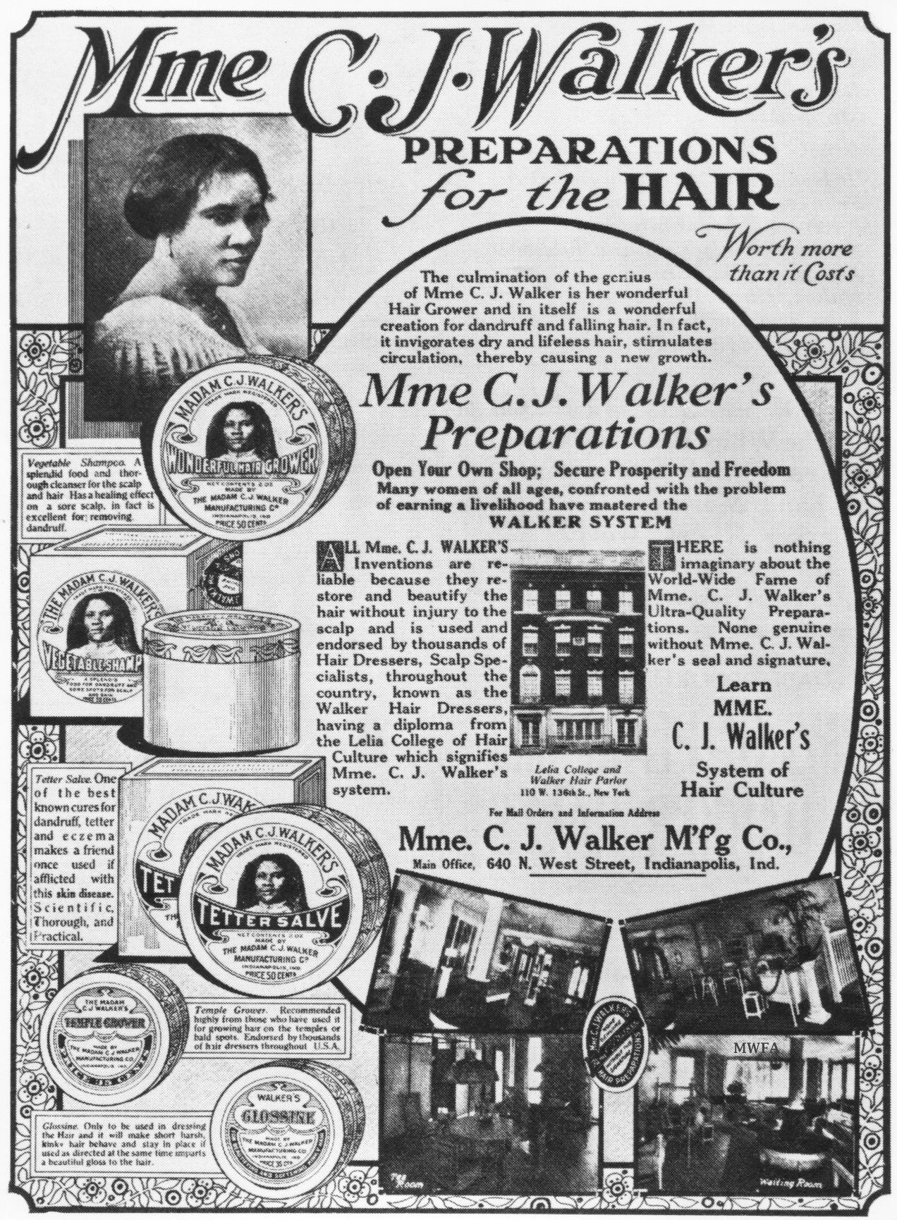 Madam C J Walker Beauty Culture An Intentional Tribute