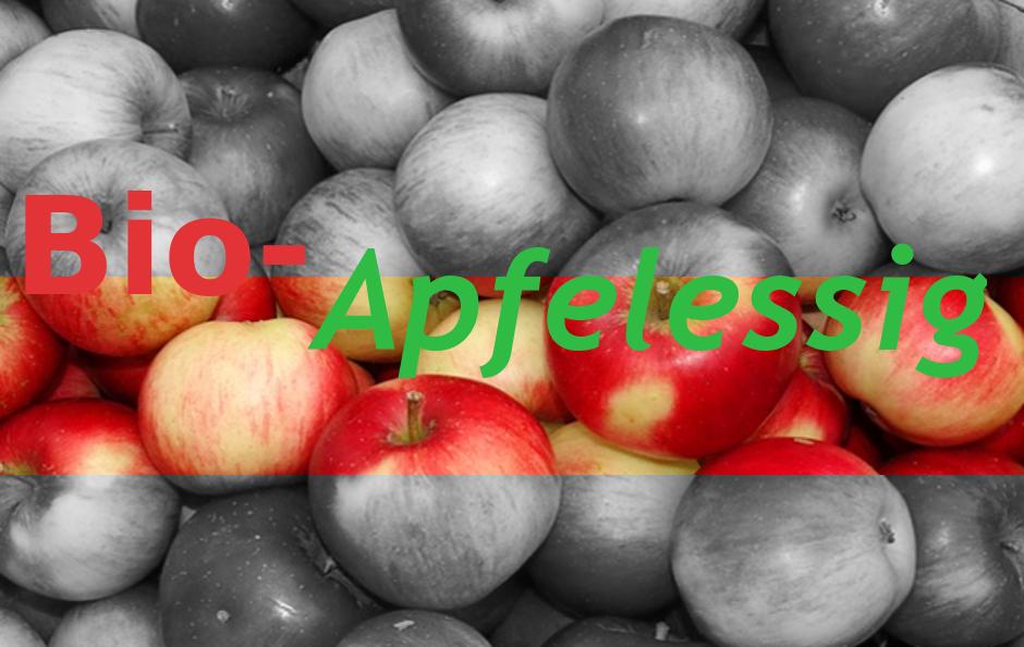 Bio-Apfelessig – für Glanz und Pflege –
