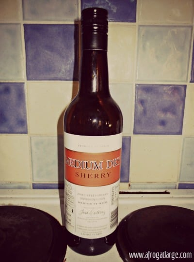 sherry xeres bottle