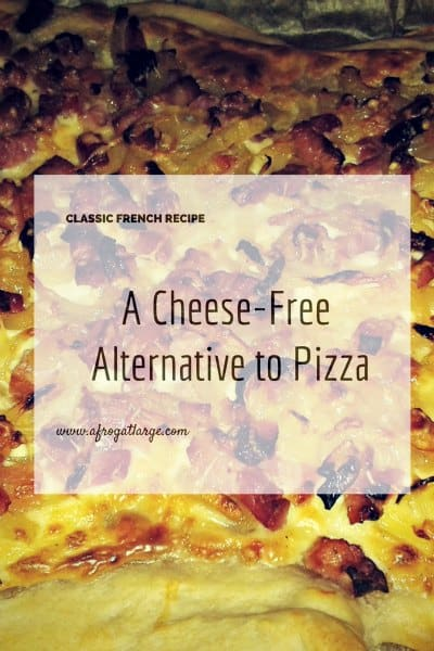 cheese free pizza