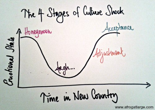 culture shock diagram