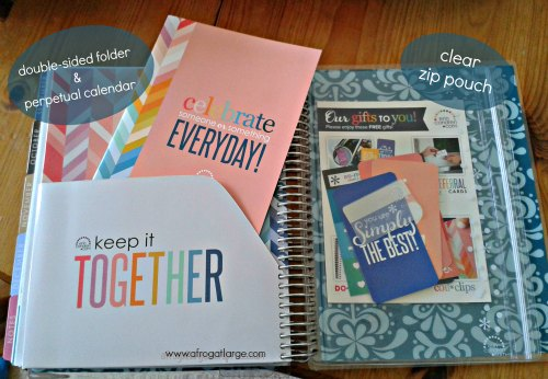 erin condren planner back pocket