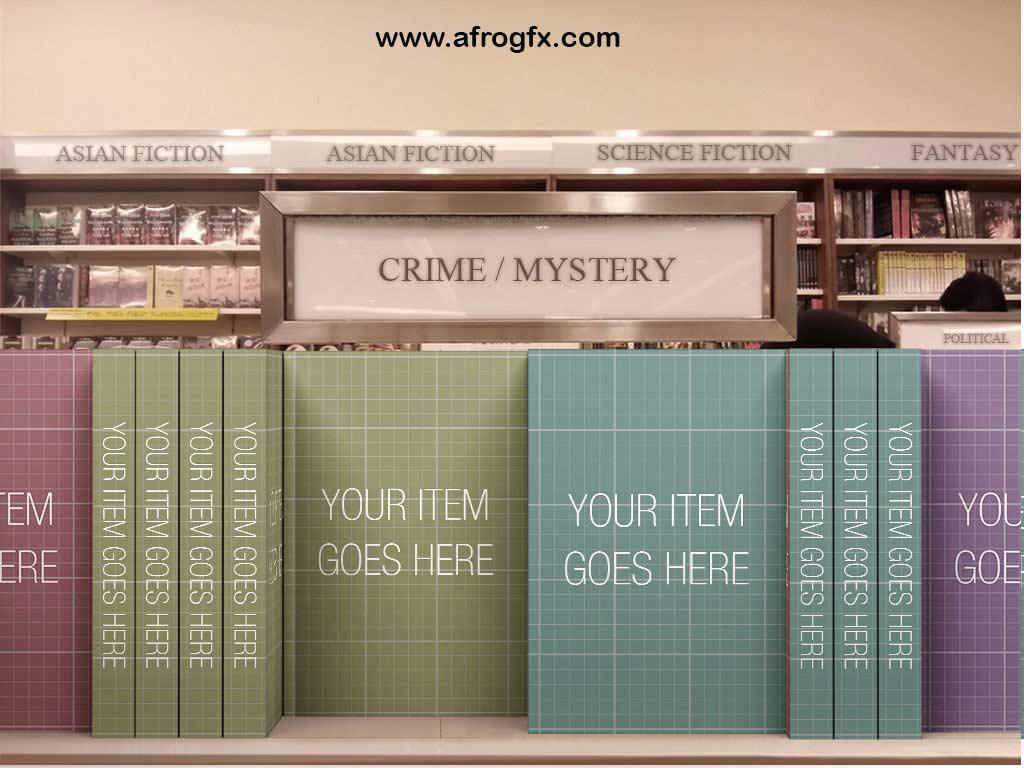 Bookstore Edition mockup
