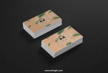 Business Cards Black
