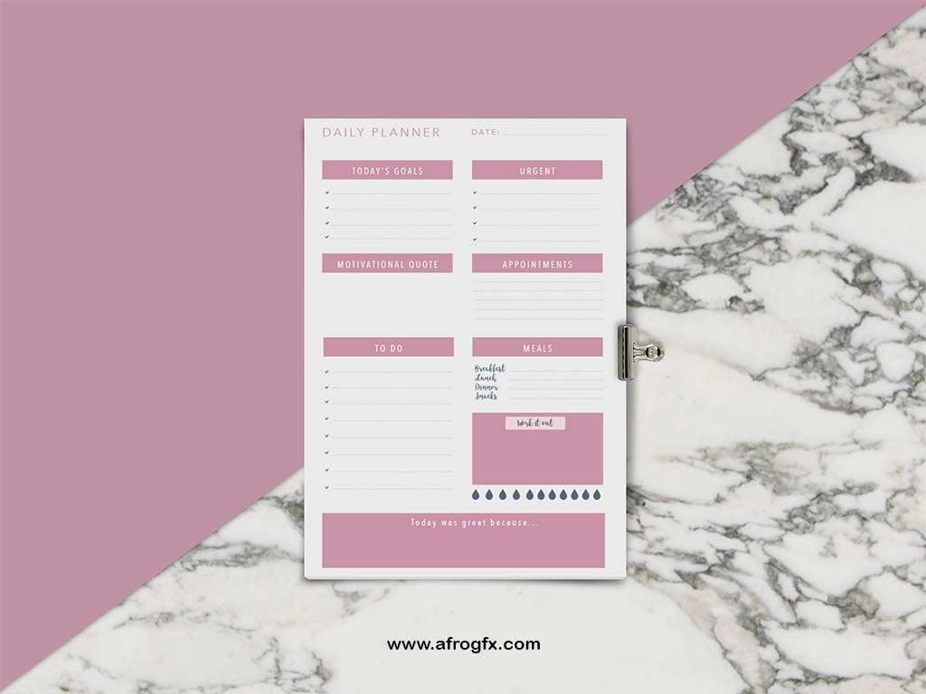 Planner Bundle - Calendar Mock Up
