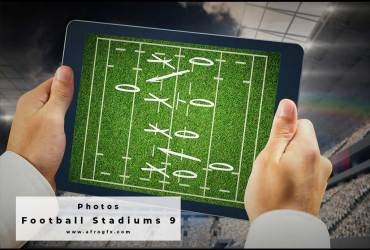 Football Stadiums 9 Stock Photo