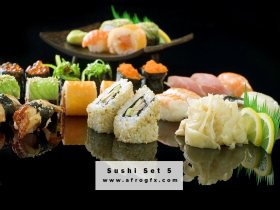 Appetizing Sushi Set 5