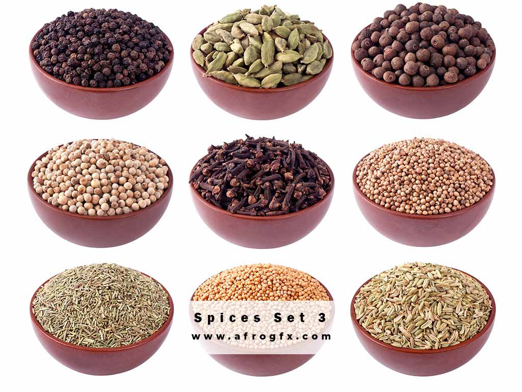Stock Photo - Spices 3