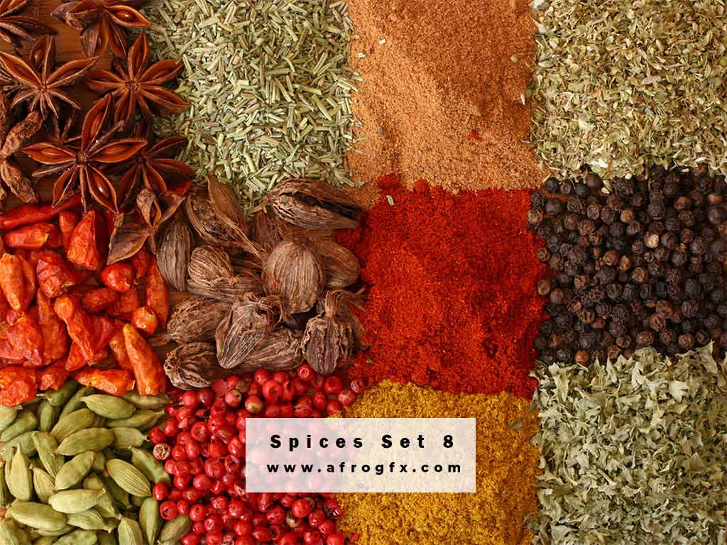 Stock Photo - Spices 8 Stock Photo