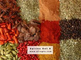 Stock Photo - Spices 8 Stock Photo