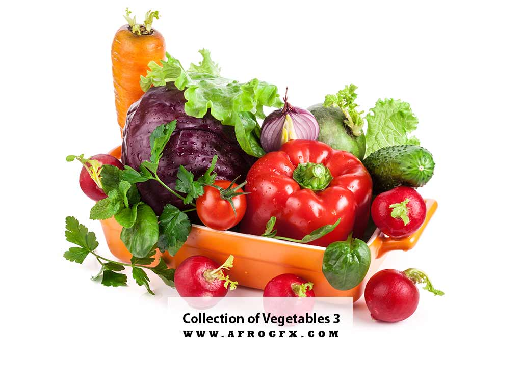 Collection of Vegetables 3