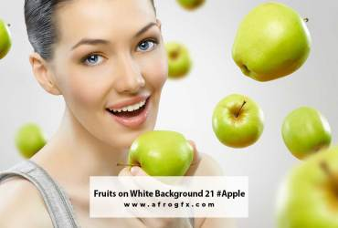 Fruits on White Background 21 #Apple